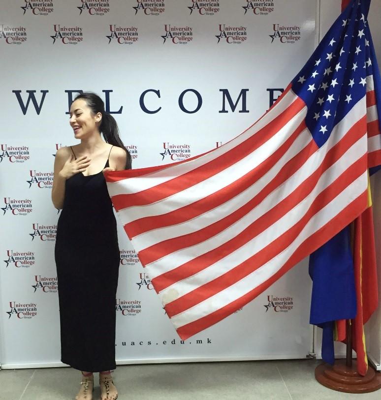 Issue 5: Marija Smilevska, Macedonian Student in America