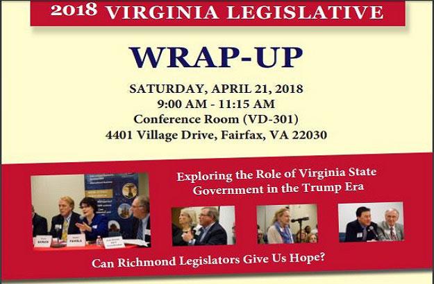 Event: 2018 Virginia Legislative Wrap-Up