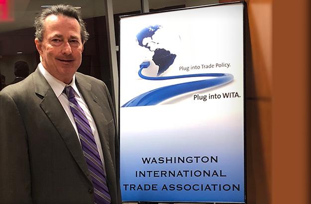 Professor Dowling Attends the Washington International Trade Association Forum